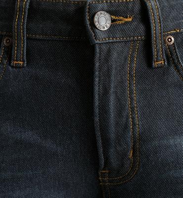 EDWIN 503 ZERO W.F 雷射保溫中直筒褲(內裡刷毛)-男款 酵洗藍 零碼 2