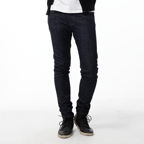【5折優惠↘】EDWIN EDGE LINE 經典修身窄管牛仔褲-男款 原藍色 0