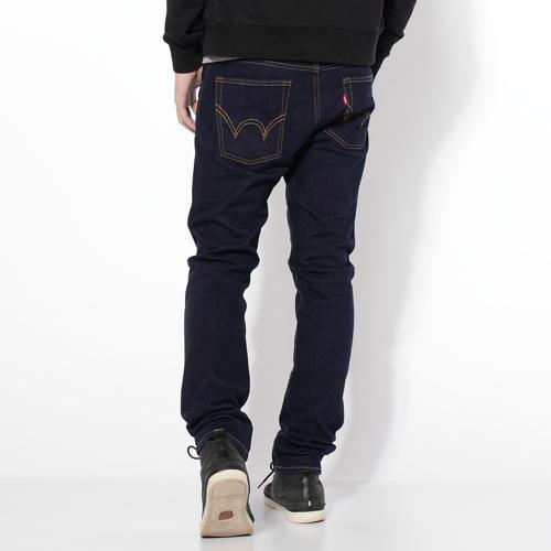 【過年加碼。2件再9折優惠↘】EDWIN 503NARROW 英倫修身窄管褲-男款 原藍色 0