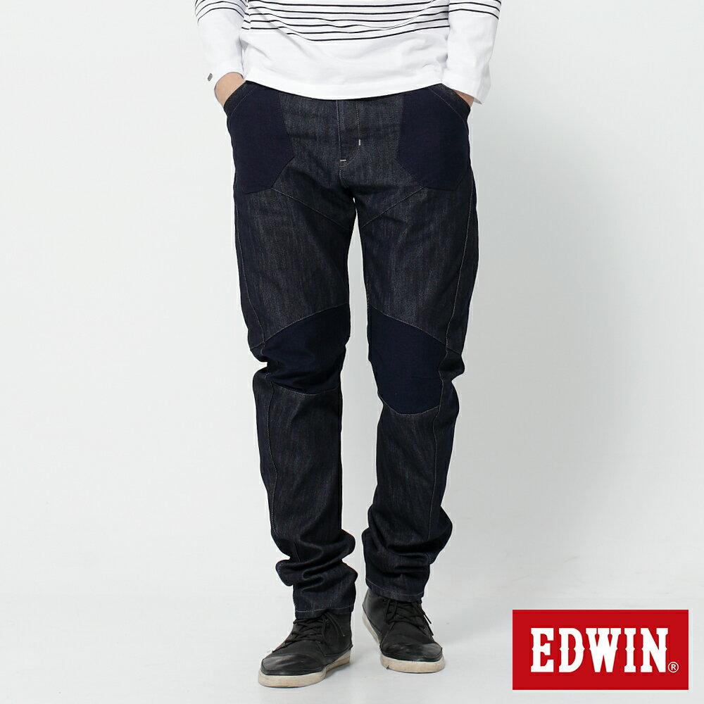 EDWIN E-FUNCTION 個性剪裁 機能3D牛仔褲-男款 原藍色 SLIM 0