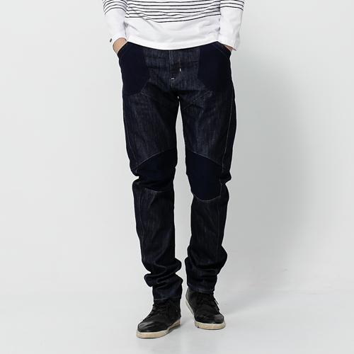 【5折優惠↘】 EDWIN E-FUNCTION 個性剪裁 機能3D牛仔褲-男款 原藍色 0