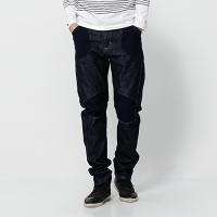 EDWIN 個性剪裁 機能 牛仔褲 男款 藍色