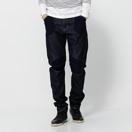 EDWIN E-FUNCTION 個性剪裁 機能3D牛仔褲-男款 原藍色 SLIM