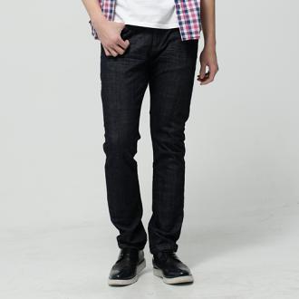 【9折優惠↘】EDWIN EDGE LINE 假袋蓋合身窄管牛仔褲-男款 原藍色