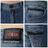 【3/29-3/31五回目水曜日。任選3件第3件牌價1折↘】EDWIN EDGE LINE 假袋蓋合身窄管牛仔褲-男款 石洗藍 1