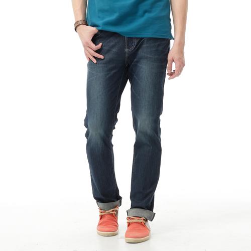 【過年加碼。2件再9折優惠↘】EDWIN JERSEYS 夏日迦績 舒適涼感AB褲-男款 石洗綠 0