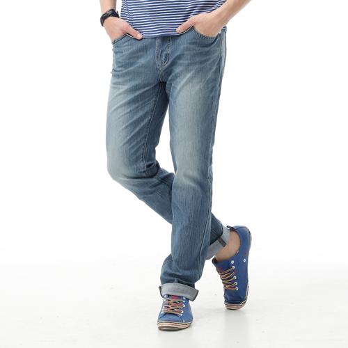 【新品送野餐墊↘】EDWIN JERSEYS 夏日迦績 舒適涼感AB褲-男款 石洗藍【9 / 30前指定新品單筆滿3800就送EDWIN迷彩野餐墊↘隨貨寄出↘】 0