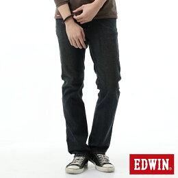 EDWIN FLEX 大尺碼 基本五袋 直筒牛仔褲 男款 中古 STRAIGHT