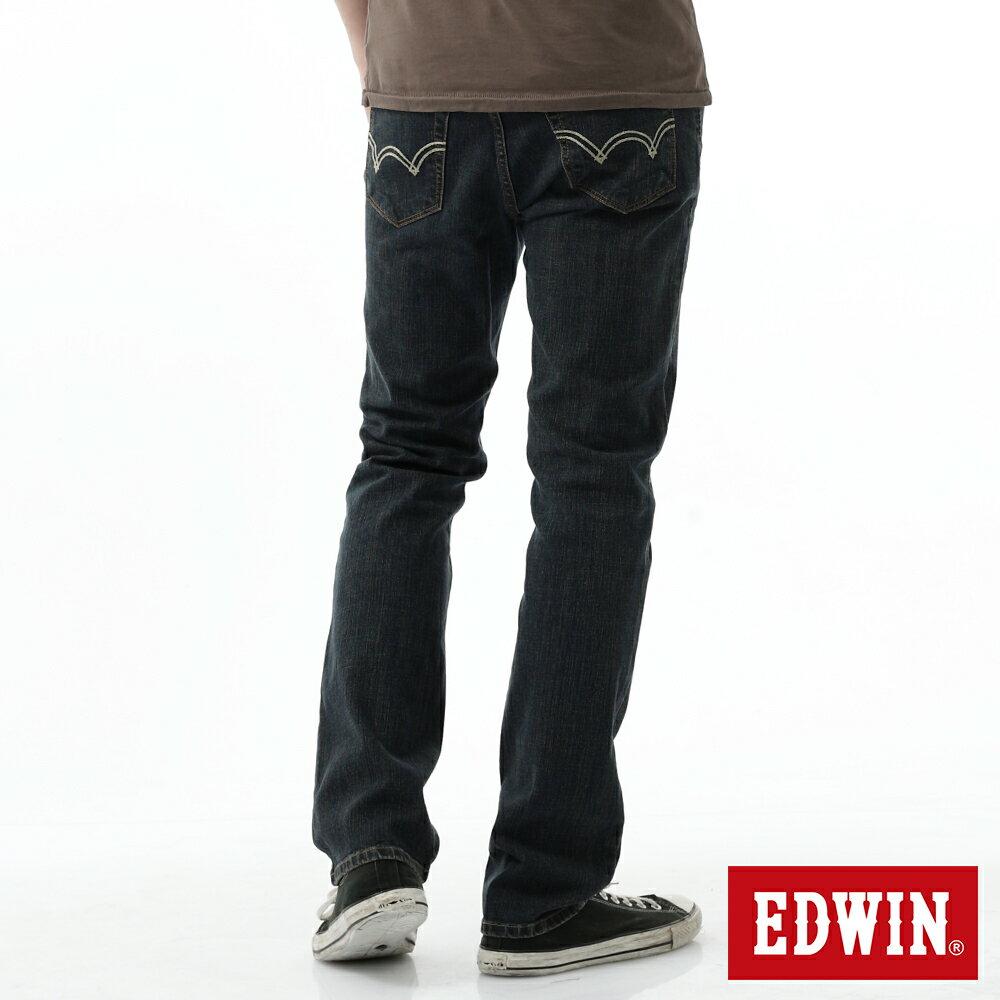 EDWIN 503 FLEX 大尺碼 基本五袋中直筒牛仔褲-男款 中古藍 STRAIGHT 1