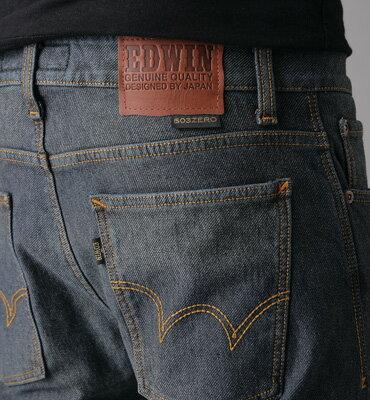★整點特賣★ EDWIN W.F ZERO針織窄管褲-男款 中古藍 1