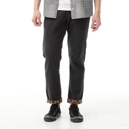 EDWIN 反折印花 直筒休閒褲 男款 灰色
