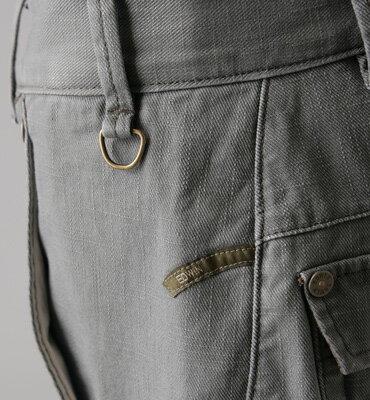 【2件組福袋。1599元↘】EDWIN 多口袋休閒長褲-男款 灰綠色 2