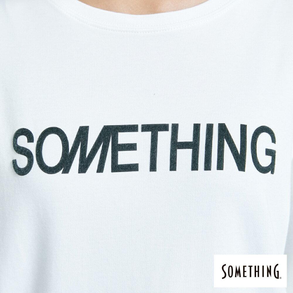 新品↘SOMETHING 馬毛LOGO 薄長袖T恤-女款 白色 6