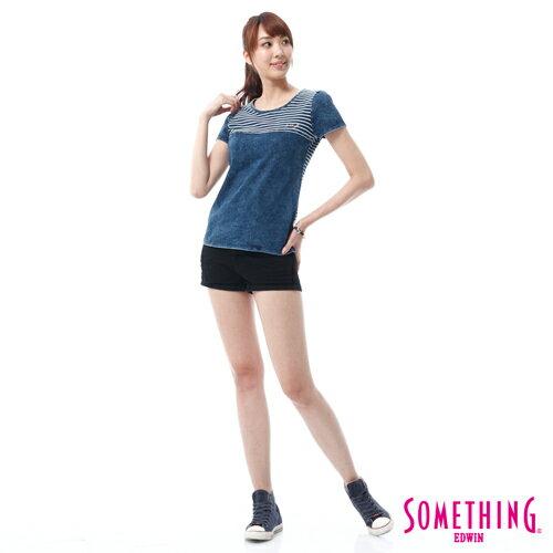 【換季最終波。任2件再9折優惠↘】SOMETHING NEO FIT 基本款夏日彩色短褲 -女款 黑色 2