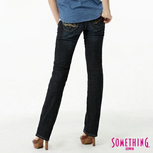 【1290元優惠↘】SOMETHING Vienus V.hip系列提臀直筒牛仔褲-水洗深藍色 1