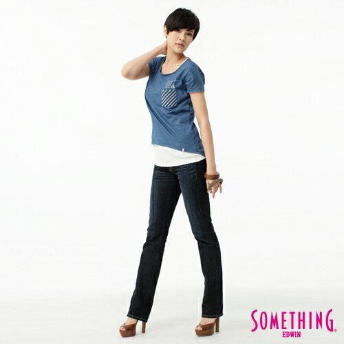 【1290元優惠↘】SOMETHING Vienus V.hip系列提臀直筒牛仔褲-水洗深藍色 2
