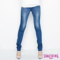 牛仔褲推薦到SOMETHING VIENUS 基本涼感 窄直筒牛仔褲-女款 中古藍 COOLMAX SLIM就在EDWIN推薦牛仔褲