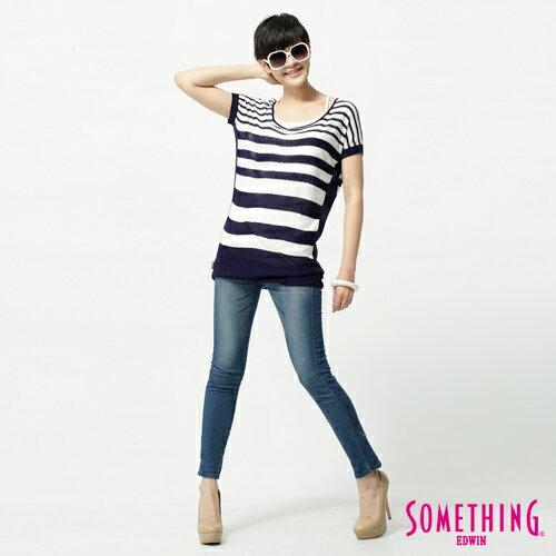 【1290元優惠↘】SOMETHING STORY 3 塑腿超窄直筒褲-女款  拔淺藍 2
