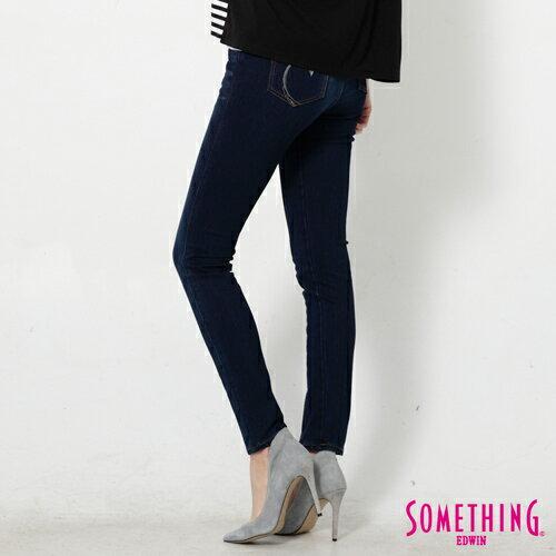 【990元優惠↘】SOMETHING MEIDUSA前袋剪接 高腰牛仔褲 -女款 原磨藍 1