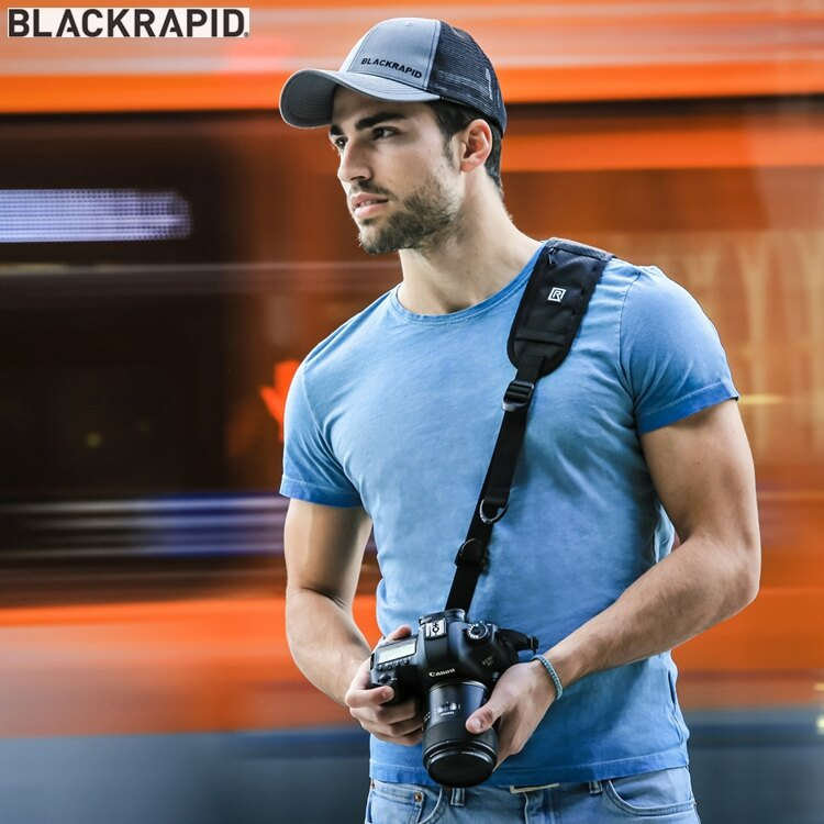 又敗家@美國Blackrapid快槍俠揹帶RS-4 CLASSIC RETRO相機斜肩揹帶相機減壓背帶RSstrap快拍相機運動揹帶運動相機揹帶Black單眼相機背帶Rapid相機背帶防滑背帶防滑相機..