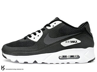 [28.5cm] 2016 最新 HYBRID 輕量化進化 NIKE AIR MAX 90 ULTRA ESSENTIAL BLACK WHITE 男鞋 黑白 HYPERFUSE 科技鞋面 ROSHE..