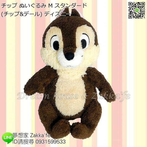 日本正版Disney迪士尼奇奇蒂蒂奇奇絨毛玩偶娃娃絨毛娃娃《M》★夢想家精品家飾★