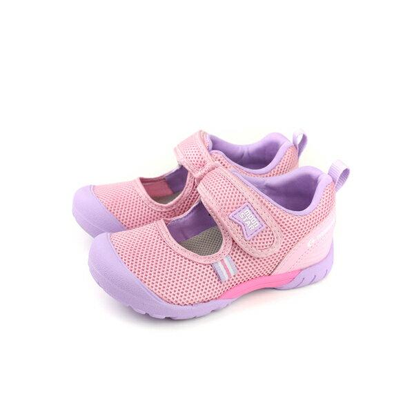 Moonstarcarrot娃娃鞋速乾系列粉紅色中童童鞋MSC21954no139