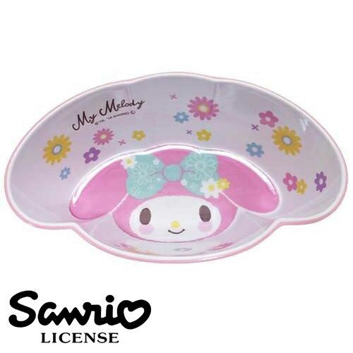 粉紅款【日本進口正版】美樂蒂 My Melody 造型碗 塑膠碗 沙拉碗 水果碗 三麗鷗 Sanrio - 420048