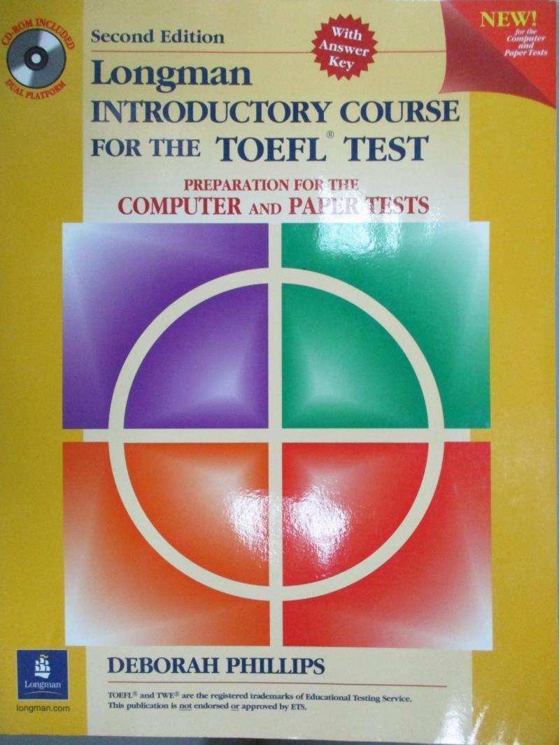 【書寶 書T6/語言學習_QOP】Longman Introductory Course for the Toefl
