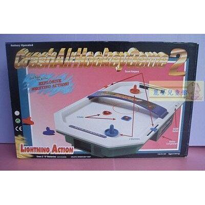 麗嬰兒童玩具館~《生活小樂趣》雙人對打競技遊戲機-浮碟曲棍桌上冰球撞擊機 1