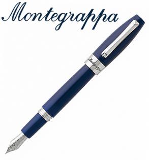 義大利Montegrappa萬特佳財富系列-鋼筆(海洋藍-銀夾)ISFOR_PD支