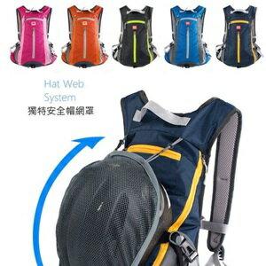美麗大街【BK105111503】 NH 新款自行車後背包 可放安全帽
