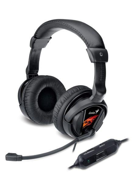 「YEs 3C」GENIUS 昆盈 HS-G500V 震動型 USB 遊戲玩家耳機麥克風 皮革製 耳罩式 含稅 免運 7ne yes3c
