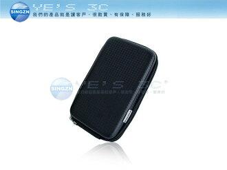「YEs 3C」全新 2.5吋 菱紋 硬殼 硬碟保護包/套 防水防震防刮 行動電源 衛星導航適用 黑 yes3c