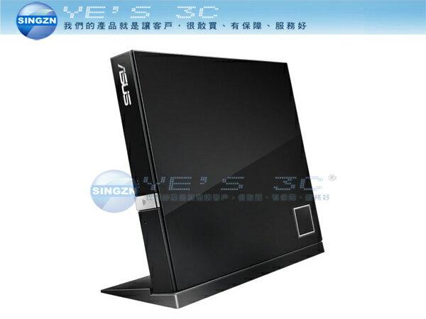 「YEs 3C」全新 ASUS 華碩 SBC-06D2X-U BLACK 超薄 外接式 燒錄機 光碟機