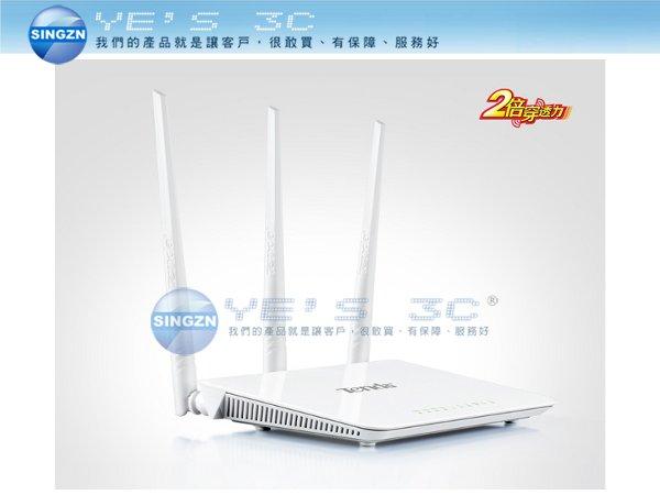 「YEs 3C」全新 Tenda 騰達 FH303 300M 無線增強型路由器 三根5dBi天線 無線橋接 有發票 免運 [b34100] yes3c 11ne