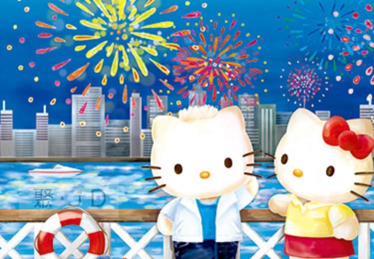 幼吾幼兒童百貨商城 【P2拼圖】三麗鷗 Hello Kitty - 夏日煙花 (300pcs) HP0300S-180