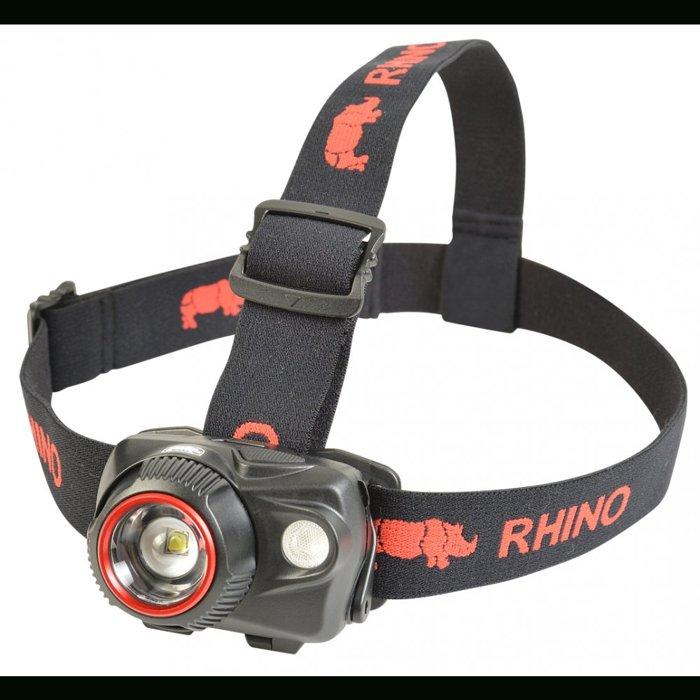 【H.Y SPORT】Rhino 犀牛 HL-700 強力雙光源LED頭燈/登山露營 夜遊 生態教學 單車 自行車