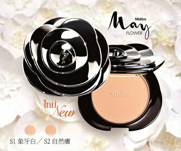 代購現貨 現貨供應 泰國 Mistine May Flower 玫瑰粉餅 IF0480