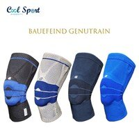 【Bauerfeind】GenuTrain 德國頂級專業運動護具 - 基本款護膝-Cool Sport Support 巴酷運動-運動休閒推薦