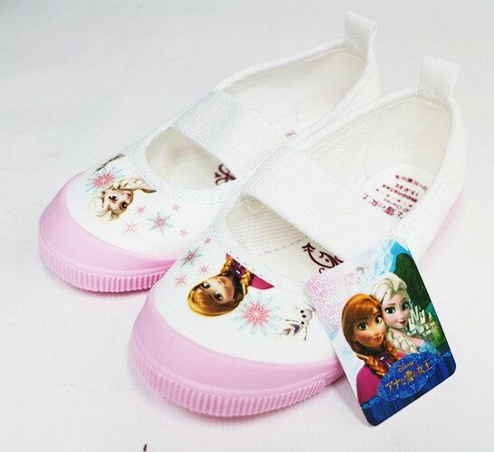 Moonstar幼兒園室內鞋 冰雪奇緣 日本製 Ag+抗菌 粉 DNF014[陽光樂活]