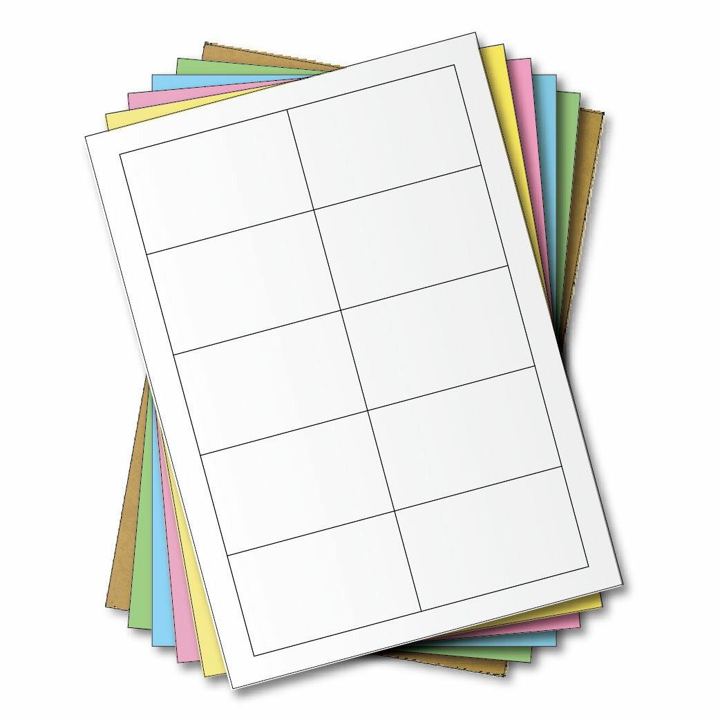 西瓜籽 龍德 三用電腦標籤貼紙 10格 LD-898-W-A 白色 105張(盒)