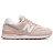 Shoestw【WL574SKC】NEW BALANCE NB574 復古休閒鞋 牛仔布面 馬卡龍 櫻花粉 粉白 女生 0