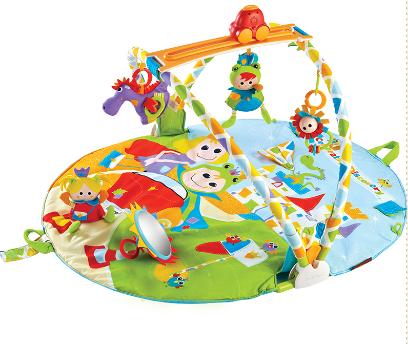 【淘氣寶寶】以色列 Yookidoo 探索系列-青蛙王子健力遊戲墊