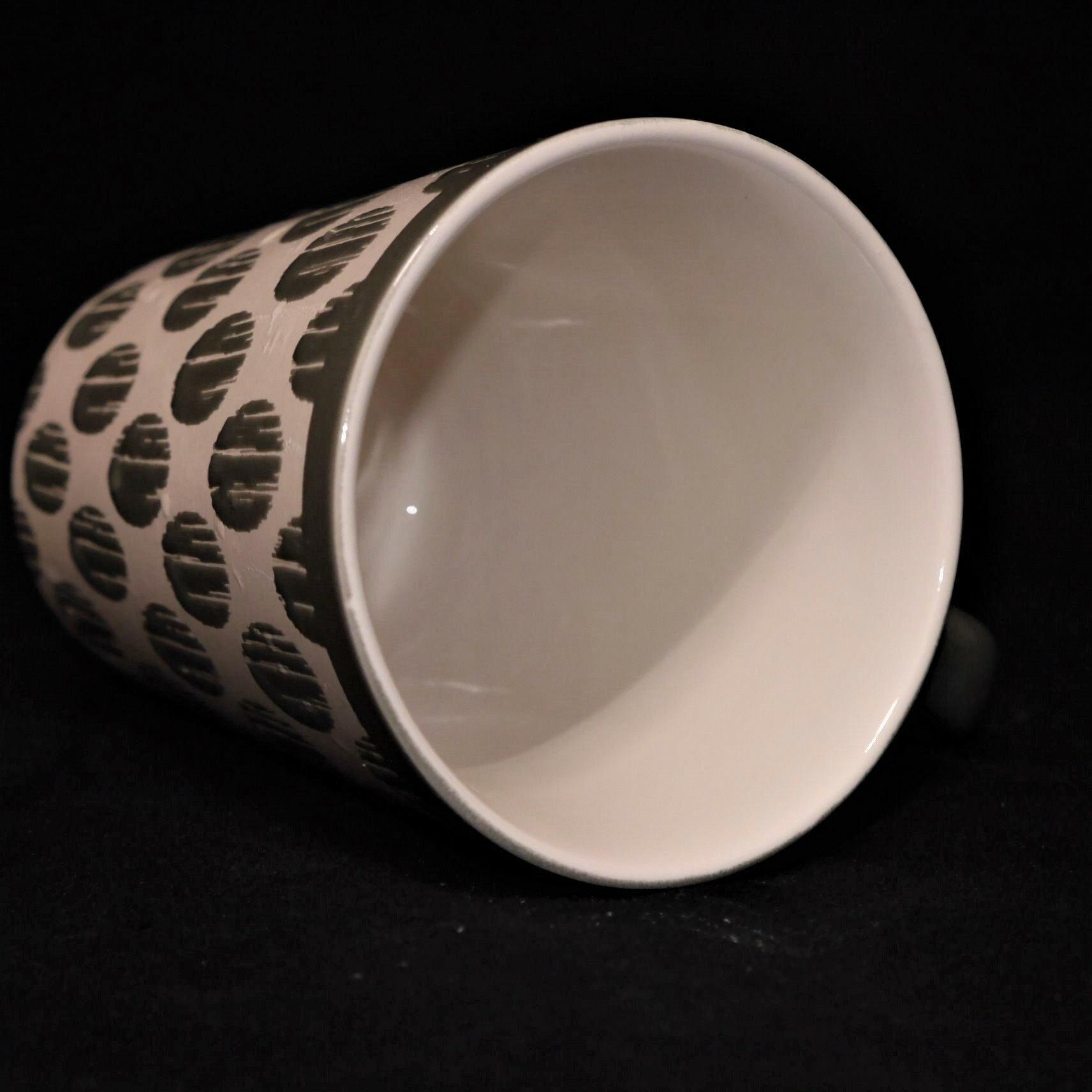 mug/馬克杯灰色幾何紋500ml【曉風】 2