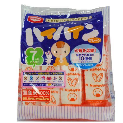 ★衛立兒生活館★龜田嬰兒米果 原味仙貝+植物乳酸菌 53g