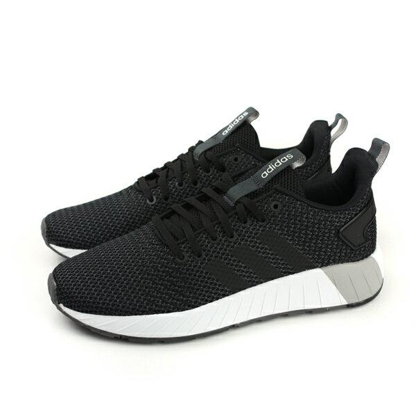 HUMAN PEACE:adidasQUESTARBYD運動鞋慢跑鞋網布黑色男鞋DB1540no504