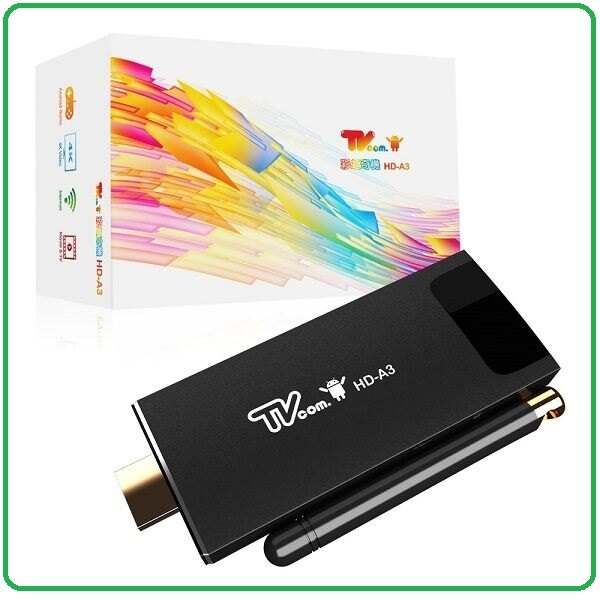 Lantic 彩虹奇機 HD-A3 Android 4.4.4 2GB RAM 智慧電視盒 電視棒 內建合法授權 LiTV 雲端數位娛樂服務