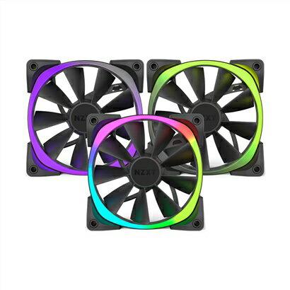NZXT恩傑AerRGBSeries風扇-120mmTriplePack(三顆)PC散熱風扇電腦散熱風扇電腦風扇【迪特軍】