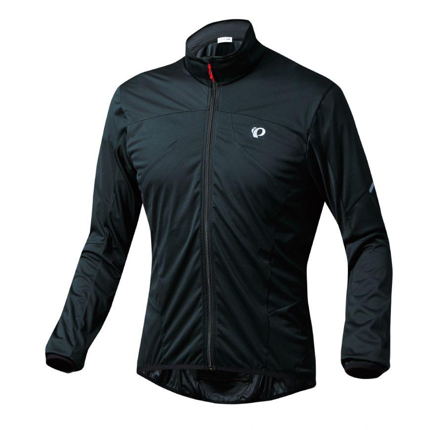 【7號公園自行車】PEARL IZUMI 2300-6 超輕量防潑水風衣(黑)